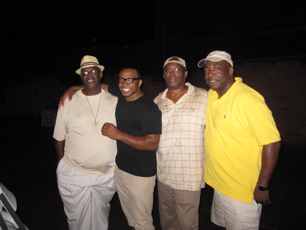 (Me and some of my older brother's In Nashville Tennessee  (Harold Wayne in yellow))