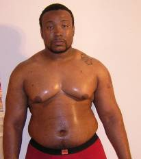 (Rashad Glover at 225 lbs January 2011)
