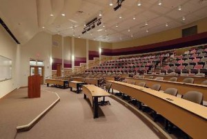 (Here is a photo of Central State University's College of Education Lecture Hall)
