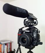 (Screen Shot of a Rhone Microphone on a Nikon D7000 by Lifeisaprayer.com)