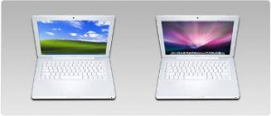 (Macbook Running Windows XP)
