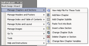 (Screen Shot of Self-Pub.net Book Making Software Plug-in for MS Word (2000-Plus)