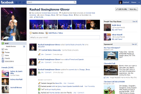 (Screen+Shot of My Facebook.com profile)