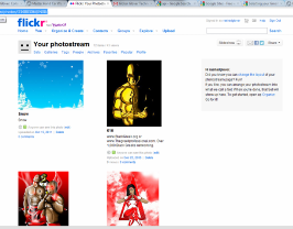 (If you're happy with what you have now, your flickr.com RSS feed is the URL displayed at the top.)
