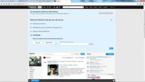 (Screenshot of Myspace's Photo Upload Page)