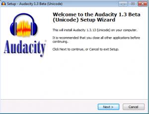 """(Screenshot of Setup Wizard ,Click """"Next>"""".)"""